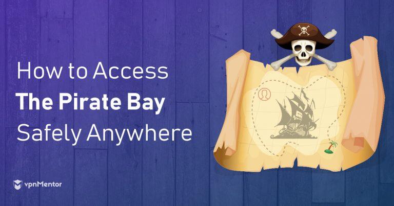 Kako odblokirati Pirate Bay